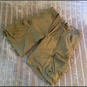 Men's NOBO no boundaries tan cargo shorts size 36